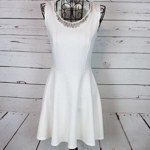 Love Culture Skater Cocktail Dress w/Bow Detail